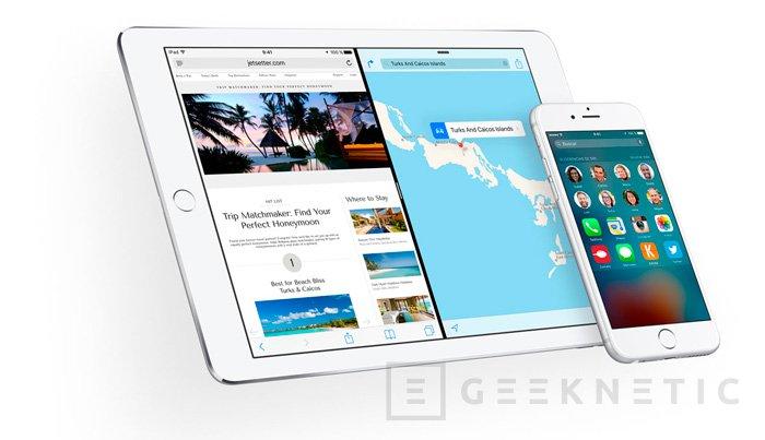 iOS 9 llegará el 16 de septiembre, Imagen 1