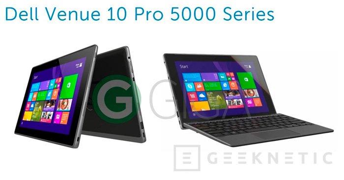 Dell prepara su tablet Venue Pro 10 con Windows 10, Imagen 1
