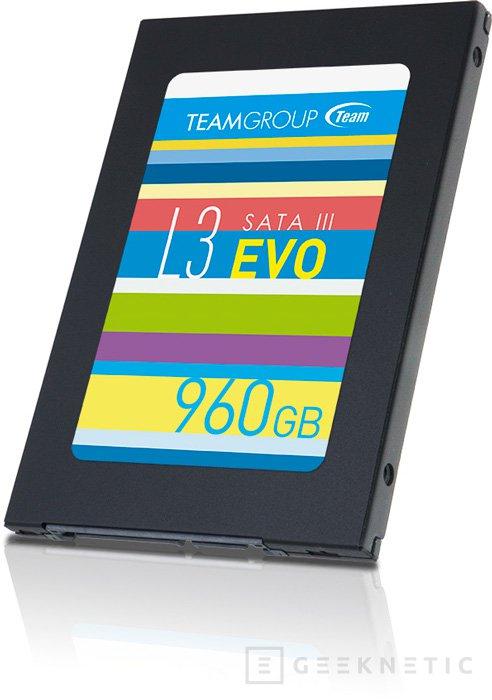 Team Group lanza cuatro SSD de la gama L3 EVO, Imagen 1