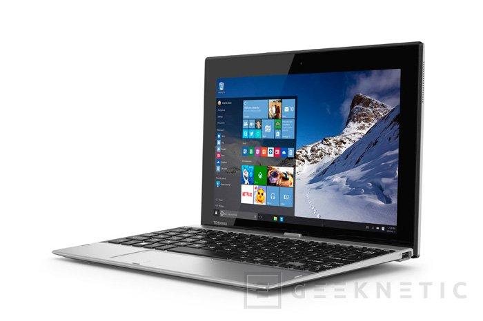 Toshiba lanza el tablet convertible Satellite Click 10 con Windows 10, Imagen 2