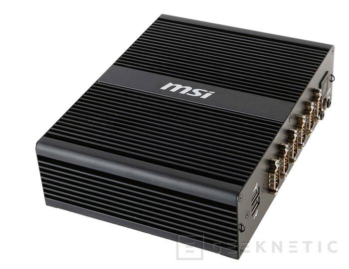 MSI desvela el MS-9A69, un ordenador completamente pasivo, Imagen 1