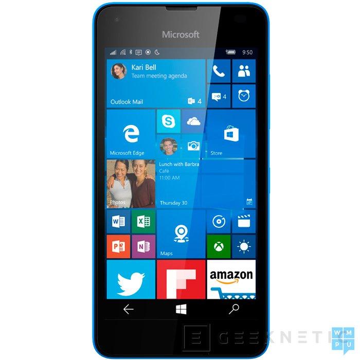Filtrado el Lumia 550, la renovación de la gama más económica de Microsoft, Imagen 1
