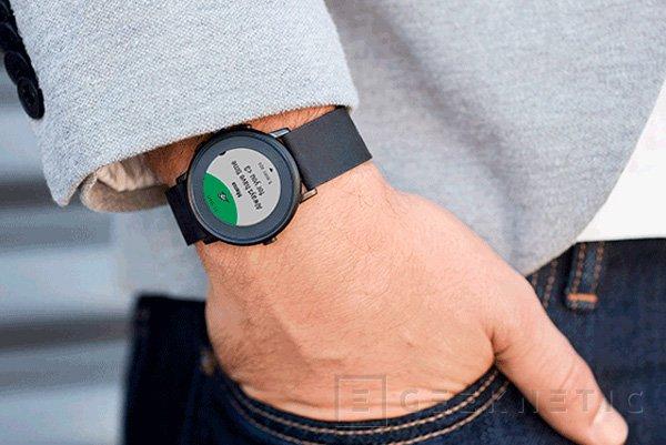Pebble se atreve con un smartwatch circular, Imagen 1