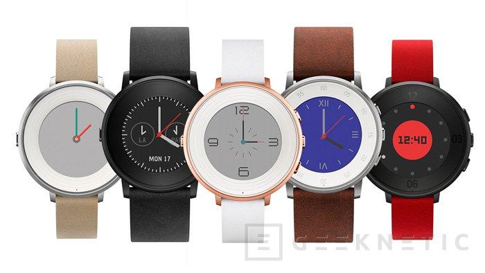 Pebble se atreve con un smartwatch circular, Imagen 2