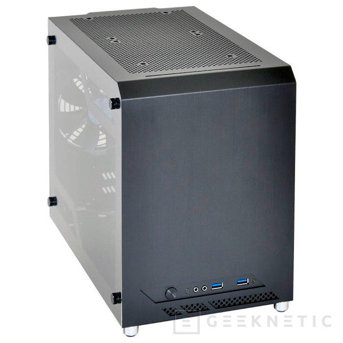Lian Li sigue apostando por torres Mini-ITX cúbicas con la PC-Q10WX, Imagen 1