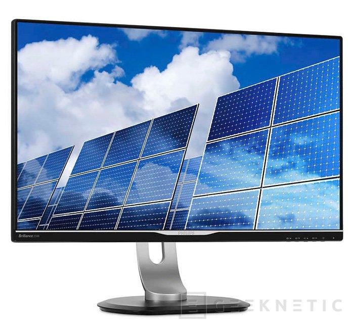 Philips Brilliance 258B6QJEB, nuevo monitor WQHD IPS, Imagen 1