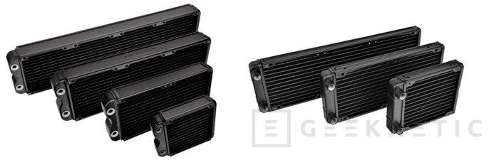Nuevos radiadores Thermaltake Pacific R y RL, Imagen 1