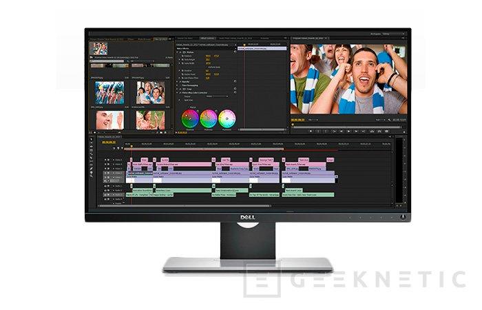 Desvelados tres nuevos monitores 4K y WQHD de Dell, Imagen 2