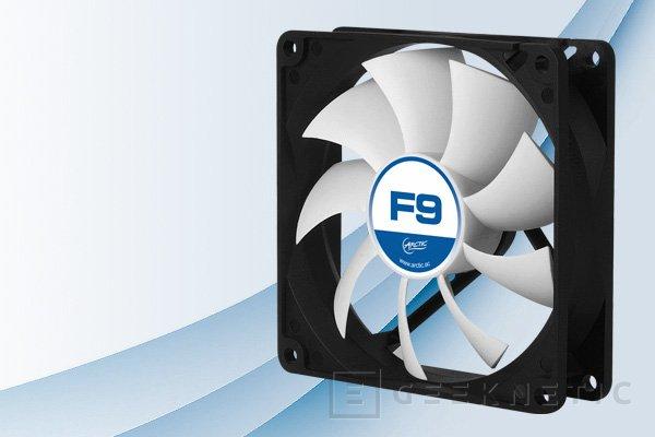 Arctic F Silent, nuevos ventiladores para ordenadores silenciosos, Imagen 1