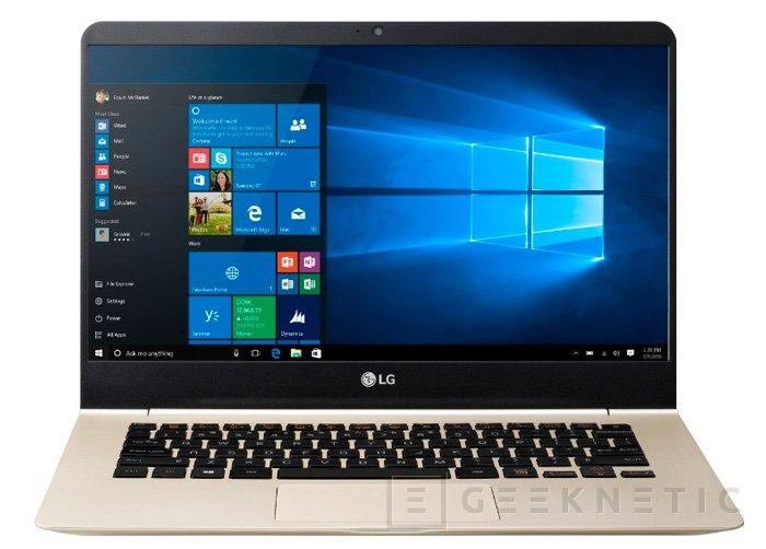 LG Gram, nueva serie de ultrabooks, Imagen 1