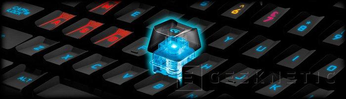 Logitech apuesta por interruptores mecánicos en su teclado G410 Atlas Spectrum, Imagen 2