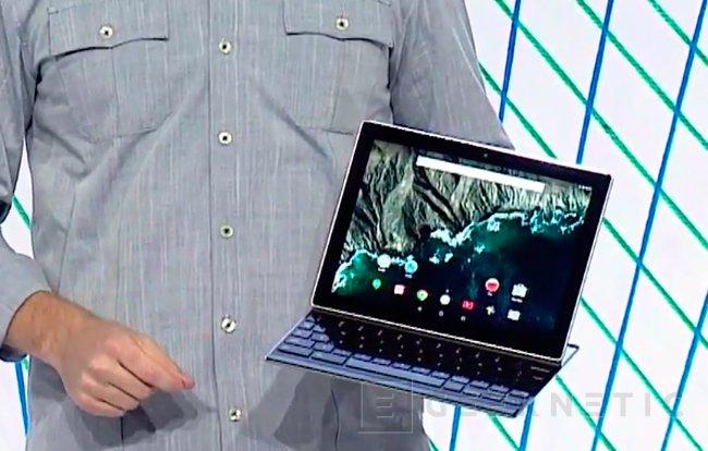 Google también quiere competir con la Surface con el Pixel C, Imagen 1