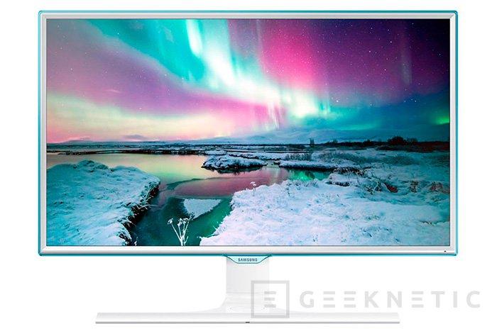 El nuevo monitor de Samsung también cargará nuestro smartphone de manera inalámbrica, Imagen 1