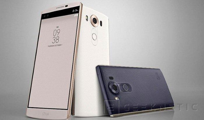 LG lanzará el sucesor del V10 este trimestre, Imagen 1