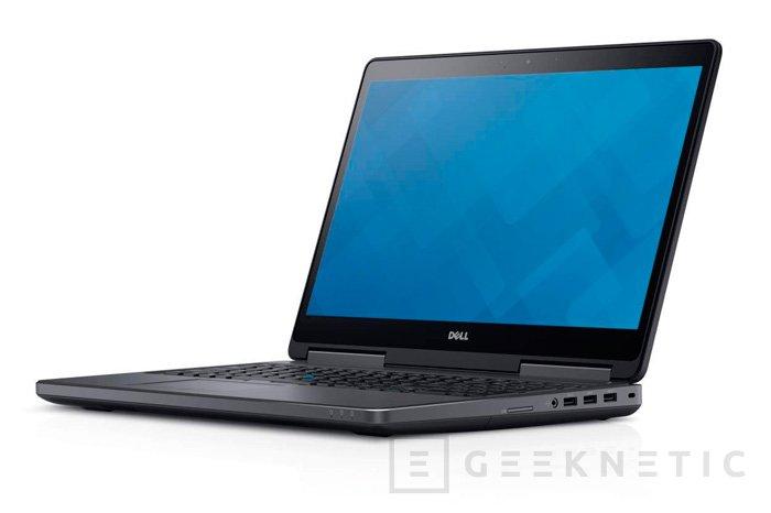 Los nuevos portátiles Dell Precision son más potentes y ligeros que sus predecesores, Imagen 2