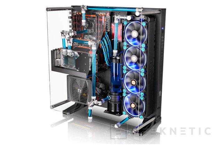 Thermaltake Core P5, una torre ATX personalizable con piezas impresas en 3D, Imagen 1