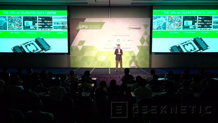 NVIDIA muestra su GPU Pascal con memorias HBM2, Imagen 1