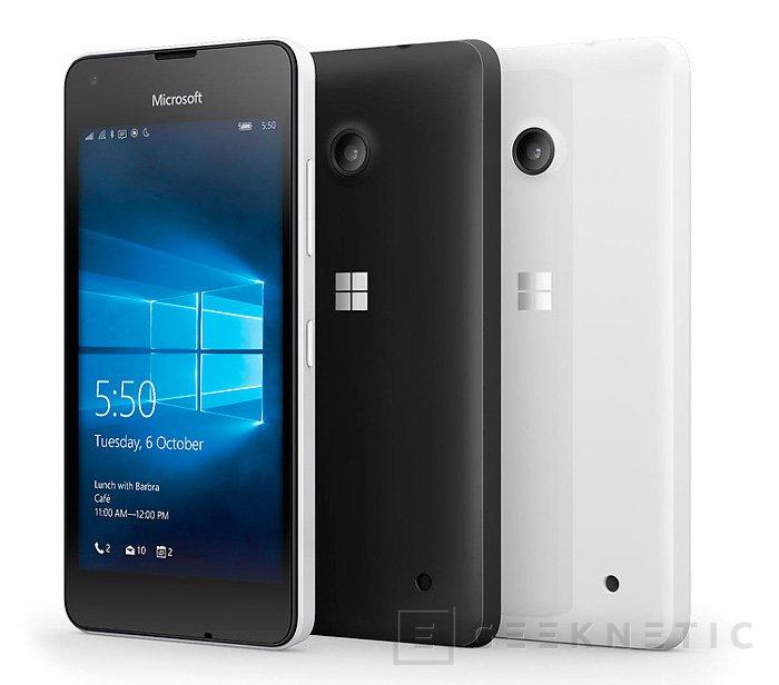 Todos los detalles del Lumia 550, Imagen 1