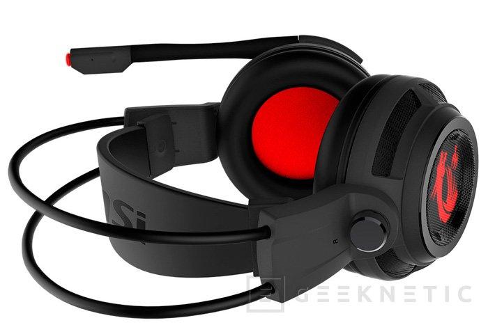 MSI desvela sus nuevos auriculares gaming DS502, Imagen 1