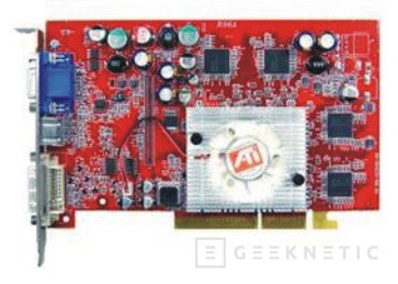 El chip gráfico ATI Radeon 9600 XT sobre una Transcend, Imagen 1