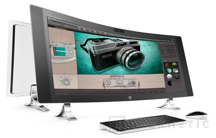 HP Envy Curve, el primer All in One con pantalla curvada, Imagen 2