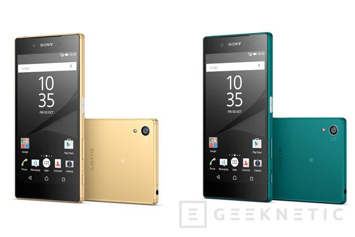 Llega a España el Sony Xperia Z5, Imagen 1