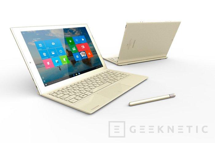 DynaPad es el nuevo tablet convertible de Toshiba, Imagen 1