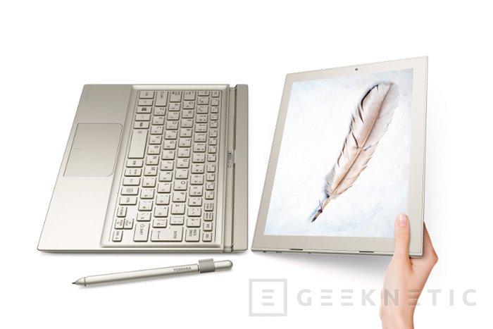 DynaPad es el nuevo tablet convertible de Toshiba, Imagen 2