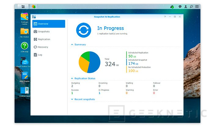 Ya disponible la beta del DiskStation Manager 6.0 de Synology, Imagen 1