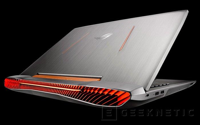 ASUS desvela 6 nuevos portátiles ROG G752, Imagen 1