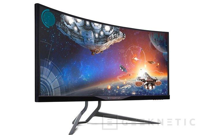 ACER Predator X34, nuevo monitor curvado con G-SYNC, Imagen 1