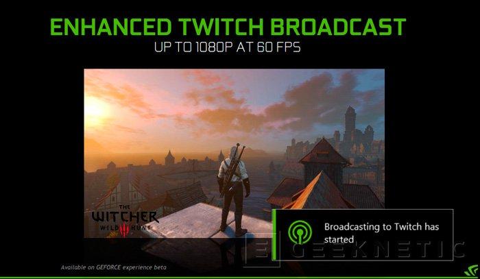 NVIDIA actualiza su GeForce Experience con streaming 4K y otras mejoras, Imagen 2