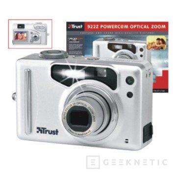 Nueva y adaptable cámara 922Z PowerC@m de Trust, Imagen 1