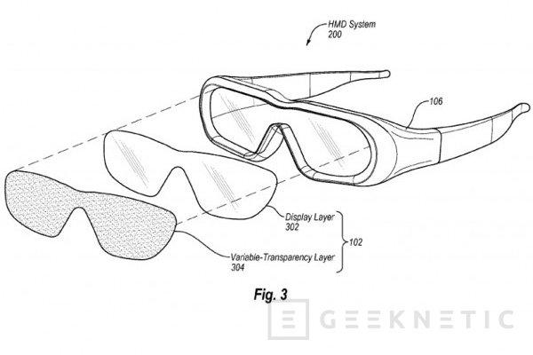 Amazon patenta unas gafas de realidad aumentada y realidad virtual, Imagen 1