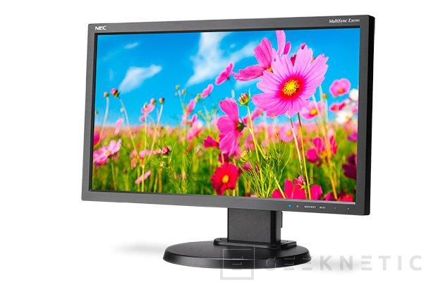 NEC E203Wi, monitor IPS con 1600 x 900 píxeles de resolución, Imagen 1