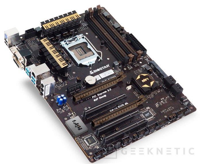 La nueva placa Biostar Z170Z5 también soporta memorias DDR4 y DDR3, Imagen 1