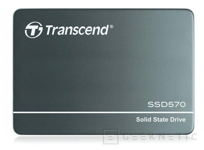 Nuevos SSD Transcend SSD570 con memorias SLC, Imagen 1
