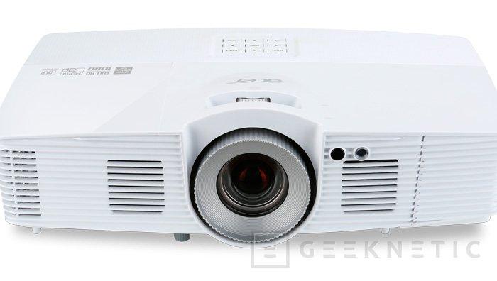 Nuevos proyectores Full HD 3D ACER V7500 , Imagen 1