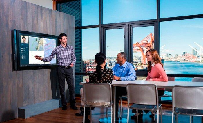 Los Surface Hub de Microsoft llegarán a España a principios del 2016, Imagen 1