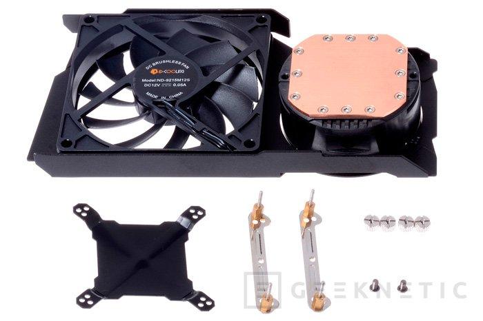 ID-Cooling FrostFlow 240G, refrigeración líquida para tarjetas gráficas., Imagen 2