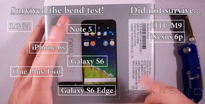 Vuelven a probar la resistencia del Nexus 6P y los resultados son igual de malos, Imagen 1
