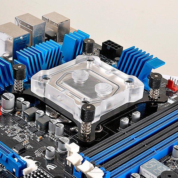 Lian Li entra en el mercado de la refrigeración líquida con un nuevo bloque de CPU, Imagen 2
