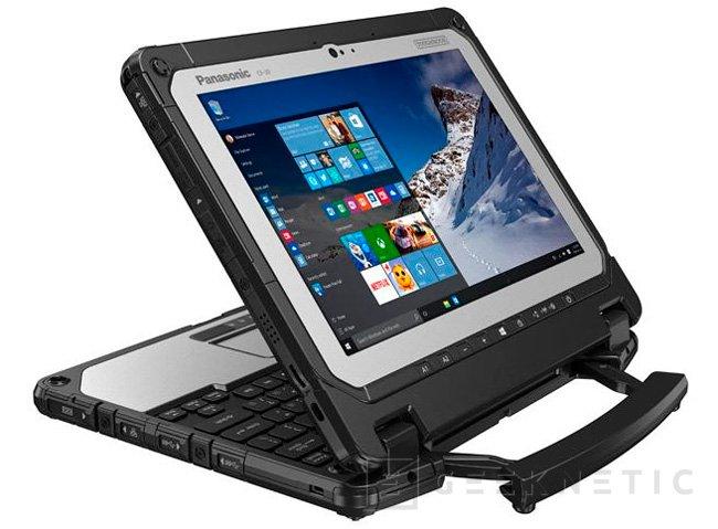 Panasonic ToughBook 20, un tablet convertible a prueba de golpes, Imagen 2