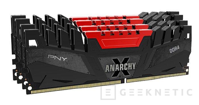 PNY Anarchy X, nuevo kit quad-channel de DDR4, Imagen 1
