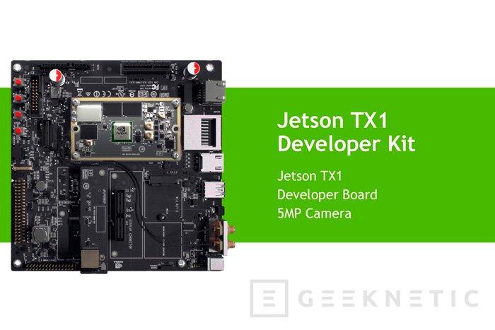 NVIDIA quiere estar en el corazón de los drones y robots con su módulo Jetson TX1, Imagen 3