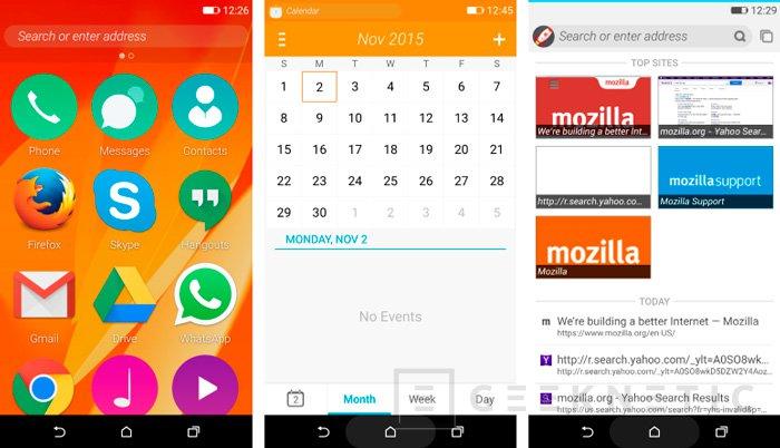 Mozilla lanza la preview de Firefox OS 2.5, Imagen 2