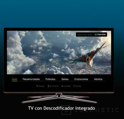 Movistar lanzará sus propios televisores con decodificador pero sin entradas de vídeo, Imagen 1