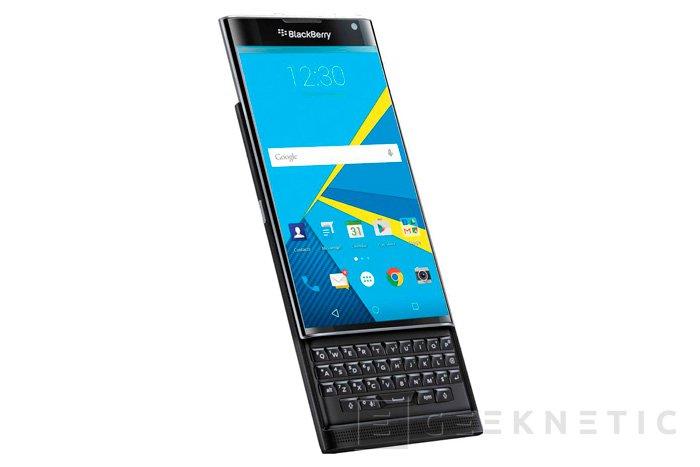 Blackberry dice que su Priv con Android tiene una demanda mayor de lo esperado, Imagen 1