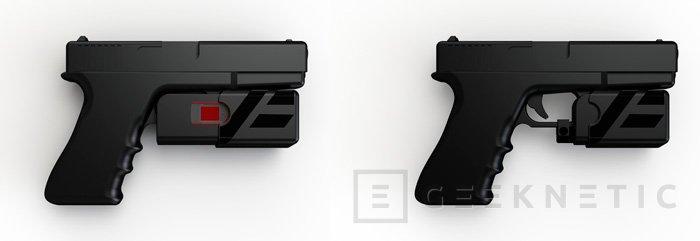 Desarrollan un sistema de seguridad con huellas dactilares para pistolas, Imagen 1