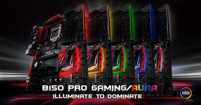 ASUS B150 Pro Gaming/Aura con iluminación RGB, Imagen 1